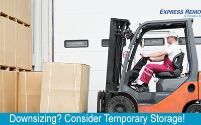 Downsizing? Consider Temporary Storage!
