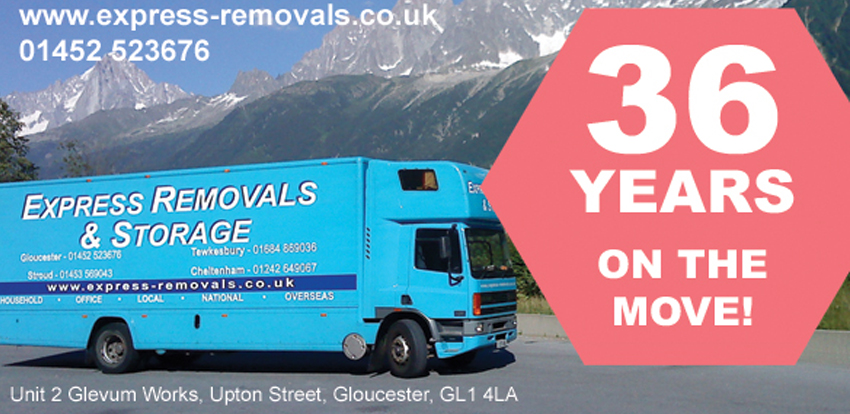 Express Removals – 36 Years on the Move!