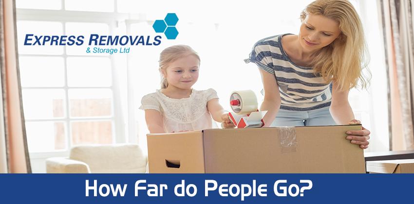 How Far do People Go?