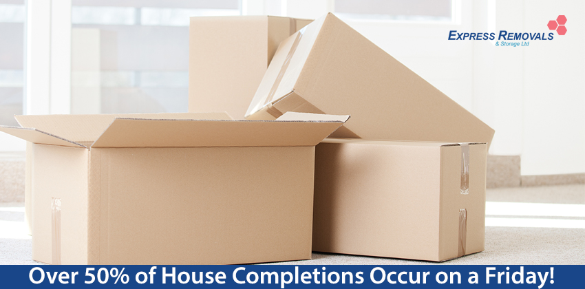 Over 50% Of House Completions Occur On A Friday!
