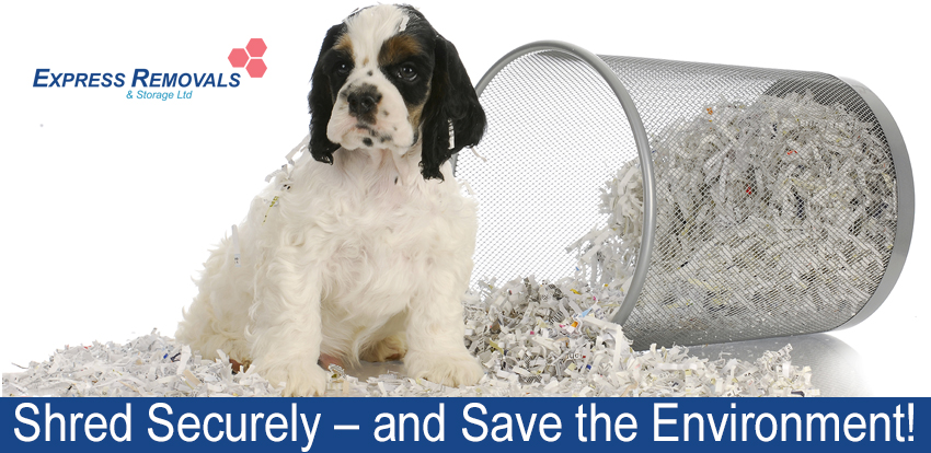 Shred Securely – And Save The Environment!