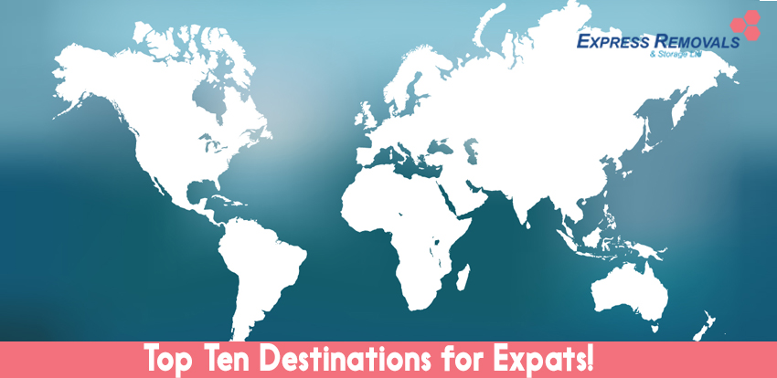 Top Ten Destinations for Expats!