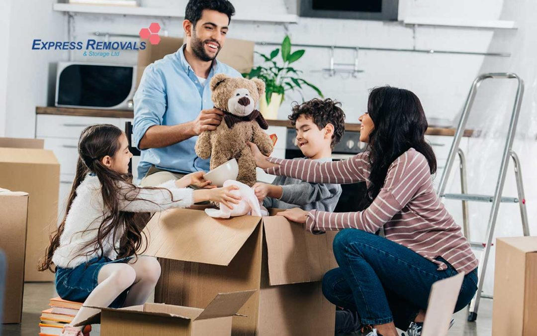 Top Tips For Moving House With Children